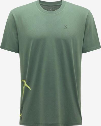 Haglöfs Shirt 'Camp' in grün / neongrün, Produktansicht