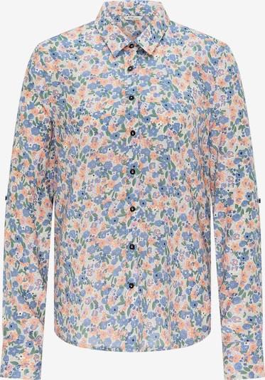 MUSTANG Bluse in hellblau / mischfarben, Produktansicht