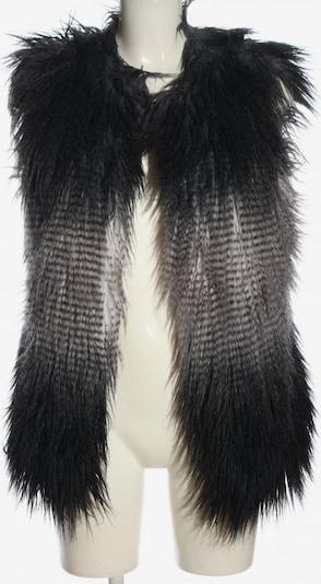 TUZZI Fellweste in M in schwarz / weiß, Produktansicht