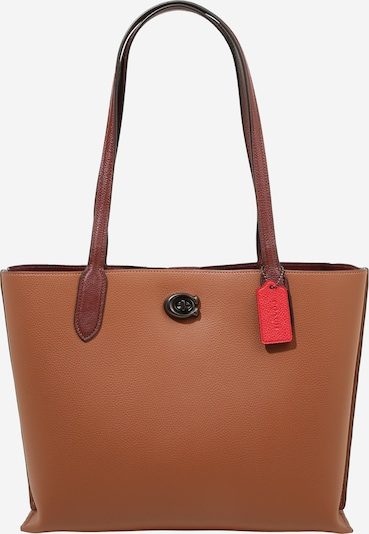 COACH Pleca soma 'colorblock leather tote' brūns, Preces skats