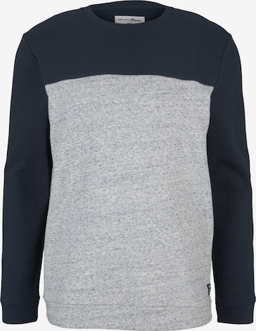 TOM TAILOR DENIM Sweatshirt in Blue