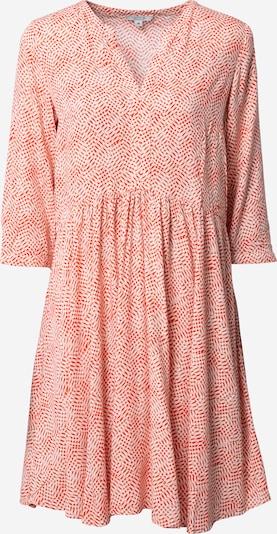 comma casual identity Kleid in orange / weiß, Produktansicht