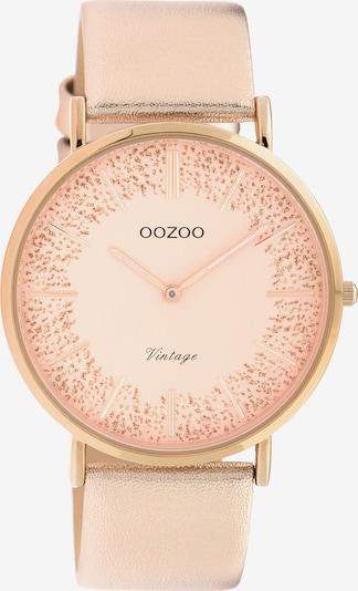 OOZOO Quarzuhr in rosé, Produktansicht