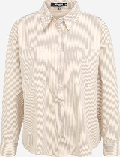 Missguided Petite Bluse 'Coord' in creme / weiß, Produktansicht