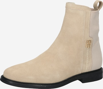 TOMMY HILFIGER Ankle Boots in Beige