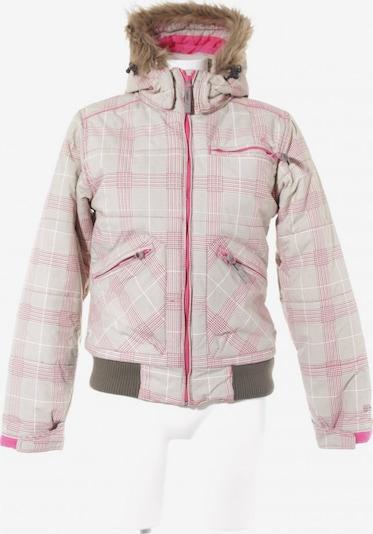 PROTEST Winterjacke in M in creme / khaki / pink, Produktansicht