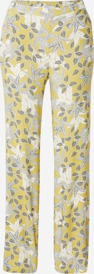 ETAM Панталон пижама 'ILMA' в жълто / тъмносиво / бяло, Преглед на продукта
