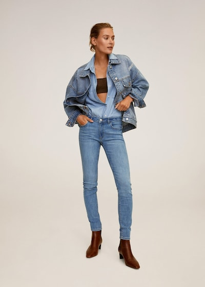 kék MANGO Farmer 'Kim', Modell nézet