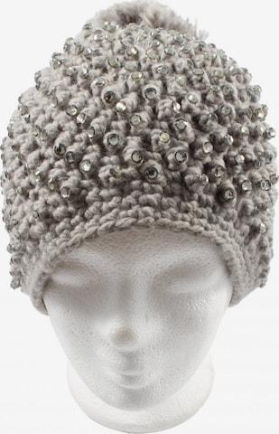 HALLHUBER Hat & Cap in XS-XL in Grey