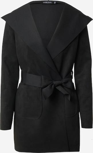 Sublevel Manteau mi-saison 'D45362F43405A' en noir, Vue avec produit