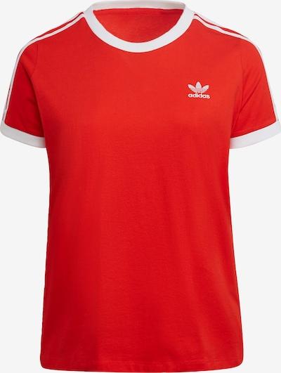 Tricou ADIDAS ORIGINALS pe roșu / alb, Vizualizare produs