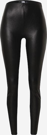Leggings Karl Lagerfeld pe negru, Vizualizare produs