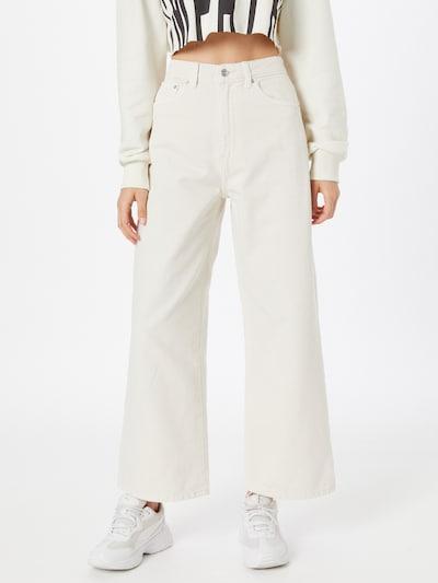 Gina Tricot Džínsy 'Idun' - biela, Model/-ka