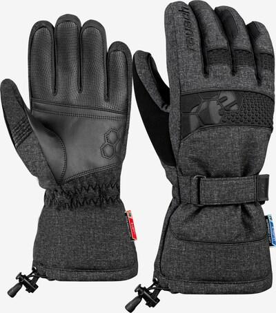 REUSCH Skihandschuhe 'Connor' in schwarz, Produktansicht