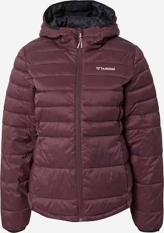 Hummel Athletic Jacket in Brown