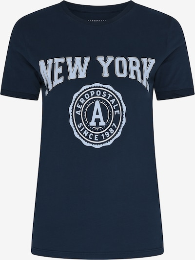 AÉROPOSTALE Shirt 'New York' in Navy / White, Item view