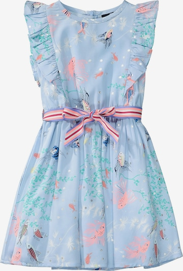 BASEFIELD Kinder Kleid in hellblau, Produktansicht