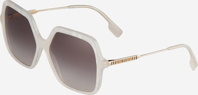 BURBERRY Sunglasses 'ISABELLA' in Ivory / Gold, Item view
