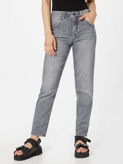 DRYKORN Jeans 'LIKE' in grey denim, Modelansicht