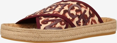 SCOTCH & SODA Pantoletten in beige / bordeaux, Produktansicht