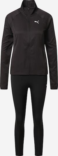 PUMA Sportanzug 'Yogini' in schwarz / weiß, Produktansicht