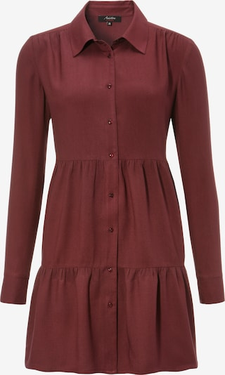 Aniston CASUAL Longbluse in bordeaux, Produktansicht
