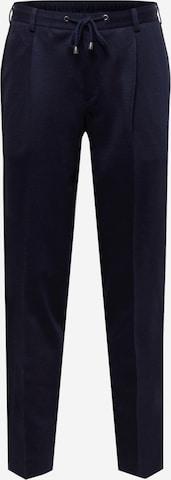 SAND COPENHAGEN Voltidega püksid 'Mark', värv sinine