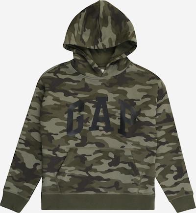 GAP Sweatshirt 'NEW ARCH' in grün / khaki / oliv / schwarz, Produktansicht