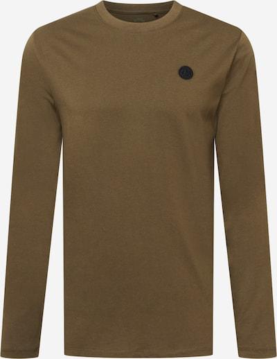 Kronstadt Shirt 'Timmi' in khaki / schwarz, Produktansicht
