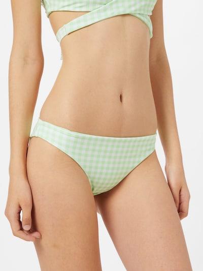 HOLLISTER Braga de bikini en verde claro / blanco, Vista del modelo