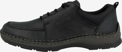 RIEKER Schnürschuhe in schwarz, Produktansicht