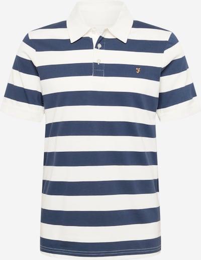 FARAH Poloshirt in blau / weiß, Produktansicht