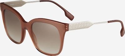BURBERRY Solglasögon 'EVELYN' i brun / silver, Produktvy