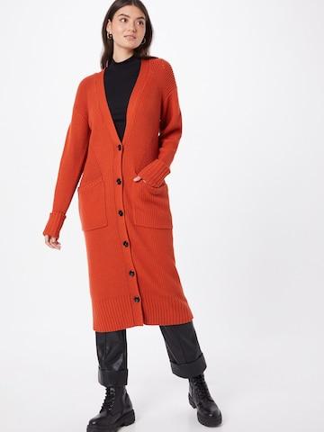 PATRIZIA PEPEDuži kardigan - narančasta boja