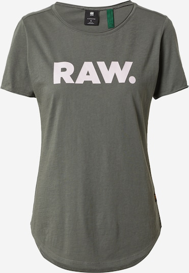 G-Star RAW Shirt in de kleur Donkergrijs / Wit, Productweergave