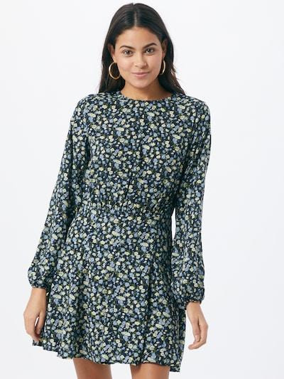 Missguided Kleid in dunkelblau / mischfarben, Modelansicht