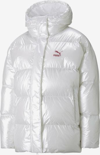 PUMA Winter Jacket in Dark red / White, Item view