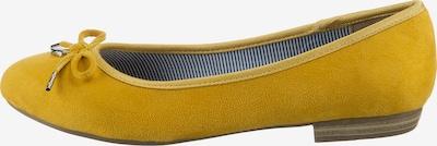 JANE KLAIN Klassische Ballerinas in gelb, Produktansicht