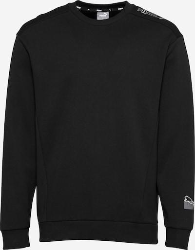 PUMA Sweater majica u kameno siva / crna / bijela, Pregled proizvoda
