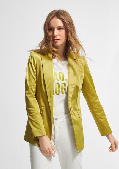 COMMA Stretch-Blazer in hellgrün, Modelansicht