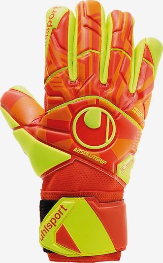 UHLSPORT Sporthandschoenen in de kleur Geel / Sinaasappel, Productweergave