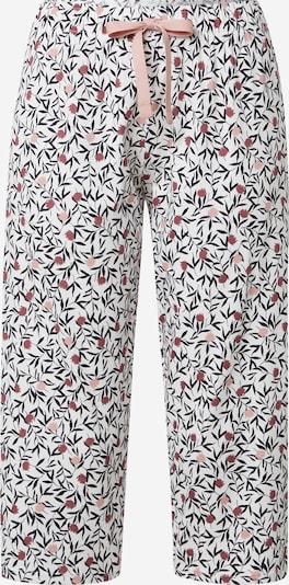 CALIDA Pyjamahousut 'FAVOURITES DREAMS' värissä puuteri / punaisenvioletti / musta / valkoinen, Tuotenäkymä