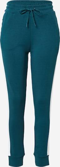 4F Sportske hlače u smaragdno zelena / bijela, Pregled proizvoda