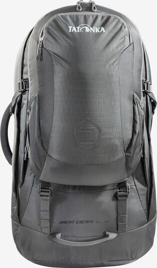 TATONKA Rucksack 'Great Escape 50+10' in grau / weiß, Produktansicht