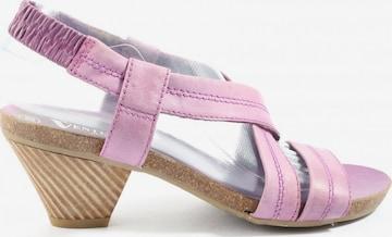 Venturini Milano Sandals & High-Heeled Sandals in 38 in Pink