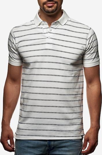 INDICODE JEANS Polo in schwarz / weiß, Produktansicht