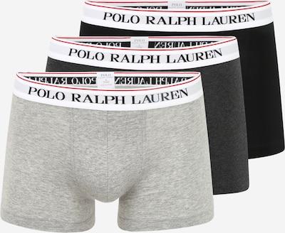 POLO RALPH LAUREN Bokserice u siva / tamo siva / lubenica roza / crna / bijela: Prednji pogled
