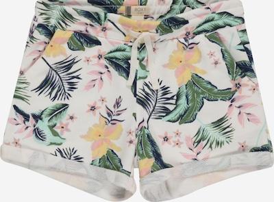 Pantaloni 'WE CHOOSE' ROXY pe galben / verde / roz / alb, Vizualizare produs