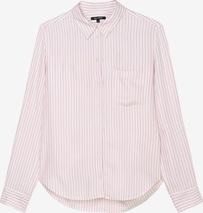 Marc O'Polo Bluse in pastellrot / weiß, Produktansicht