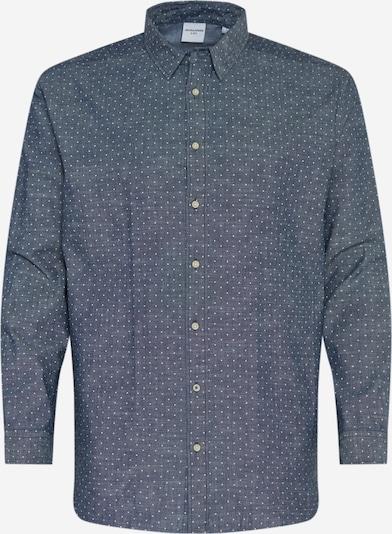 Dalykiniai marškiniai iš Jack & Jones Plus , spalva - tamsiai mėlyna, Prekių apžvalga